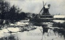 win001047 - Windmills Postcard Post Cards, Old Vintage Antique