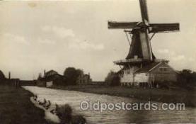 win001048 - Oude Schilderachtige Molens Windmills Postcard Post Cards, Old Vintage Antique