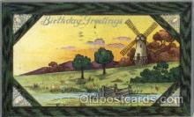win001052 - Windmills Postcard Post Cards, Old Vintage Antique