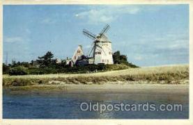 win001055 - Cape Cod, Massachusetts, USA Windmills Postcard Post Cards, Old Vintage Antique