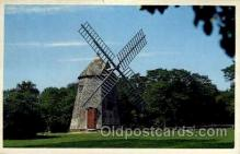 win001056 - The oldest windmill, Cape Cod, Massachusetts, USA Windmills Postcard Post Cards, Old Vintage Antique