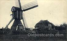 win001057 - Windmills Postcard Post Cards, Old Vintage Antique