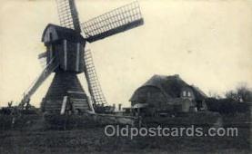 win001057 - Windmills Postcard Post Cards, Old Vintage Antique