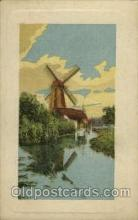 win001064 - Windmills Postcard Post Cards, Old Vintage Antique