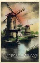 win001065 - Windmills Postcard Post Cards, Old Vintage Antique