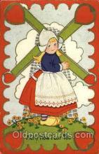 win001068 - Windmills Postcard Post Cards, Old Vintage Antique