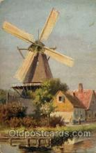 win001069 - Windmills Postcard Post Cards, Old Vintage Antique