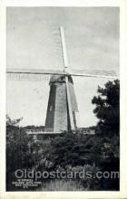 win001077 - Windmill Golden Gate Park, San Francisco, USA Windmills Postcard Post Cards, Old Vintage Antique