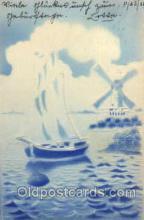 win001081 - Windmills Postcard Post Cards, Old Vintage Antique