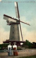win001082 - Dutch Windmill Golden Gate Park, San Francisco, California, USA Windmills Postcard Post Cards, Old Vintage Antique