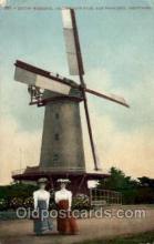 win001082 - Dutch Windmill Golden Gate Park, San Francisco, California, USA Windmills Postcard Post Cards, Old Vintage Antique