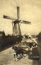 win001083 - Windmills Postcard Post Cards, Old Vintage Antique