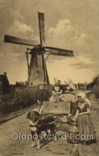 win001084 - Windmills Postcard Post Cards, Old Vintage Antique