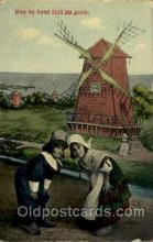 win001085 - Windmills Postcard Post Cards, Old Vintage Antique
