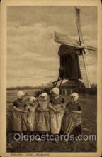 win001086 - Windmills Postcard Post Cards, Old Vintage Antique