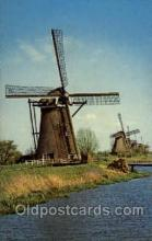 win001091 - Windmills Postcard Post Cards, Old Vintage Antique