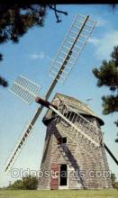 win001095 - Grist Mill, Chatham, Cape Cod, Massachusetts, USA Windmills Postcard Post Cards, Old Vintage Antique