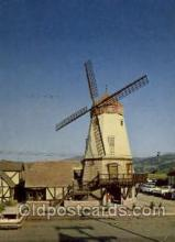 win001096 - Solvang, California, USA Windmills Postcard Post Cards, Old Vintage Antique
