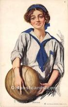 wis002020 - Woman in Sports Artist Signed Postcard