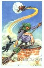 wit001007 - Curt Nystrom, Witch Postcard Postcards