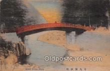wod001010 - Sacred Bridge Nikko Postcard Post Card