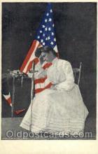 wom001012 - Contemplation Woman Postcard Postcards