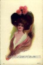 wom001035 - Sweet Kitty Bellairs, Woman Postcard Postcards