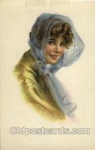 wom001036 - Woman Postcard Postcards