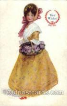 wom001059 - Woman Postcard Postcards