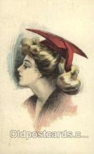 wom001062 - Woman Postcard Postcards