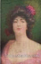 wom001064 - Woman Postcard Postcards