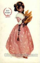 wom001085 - Woman Postcard Postcards