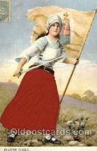 wom001090 - Jeanne D'arc,  Woman Postcard Postcards