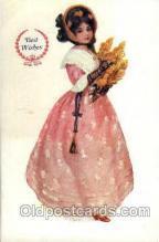 wom001116 - Woman Postcard Postcards