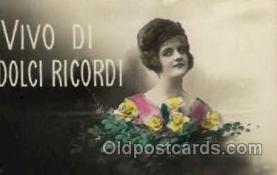 wom001122 - Woman Postcard Postcards