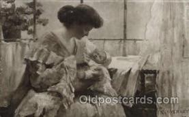 wom001124 - Woman Postcard Postcards