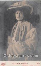 wom001177 - Eleanor Robson  Postcard Post Card