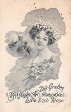 wom001280 - St Patricks Day HA Weiss Postcard Post Card