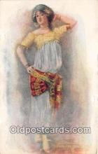wom001375 - Oriental Dance  Postcard Post Card