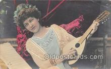 wom001380 - Music  Postcard Post Card