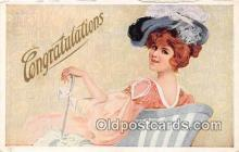 wom001407 - Congratulations  Postcard Post Card