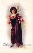 wom001514 - Study in Purple  Postcard Post Card