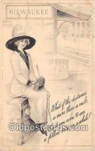 wom001634 - Milwaukee, USA Postcard Post Card