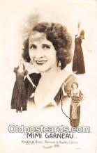 wom001636 - Mimi Garneau Ringling Bros, Barnum & Bailey Circus 1936 Postcard Post Card