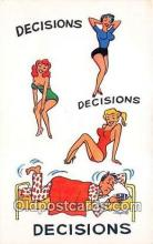 wom001643 - Decisions  Postcard Post Card