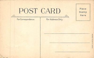 xms001539 - Christmas Post Card Old Vintage Antique Xmas Postcard  back