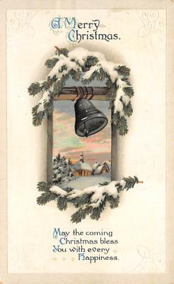 xms002019 - Christmas Postcard Antique Xmas Post Card
