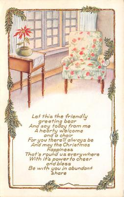 xms002189 - Christmas Postcard Antique Xmas Post Card
