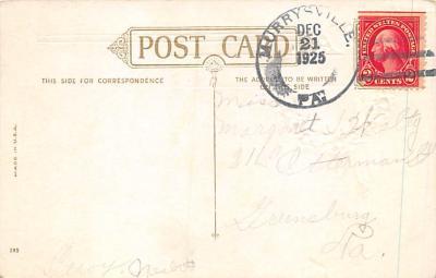 xms002785 - Christmas Day Postcard  back