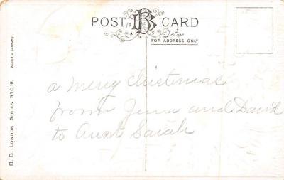 xms002851 - Christmas Day Postcard  back